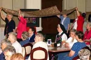2005: Sunday liturgy at Providence Event